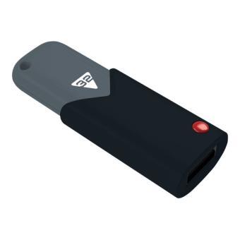 Memoria USB 3.0 Emtec Click 32 GB negra y gris