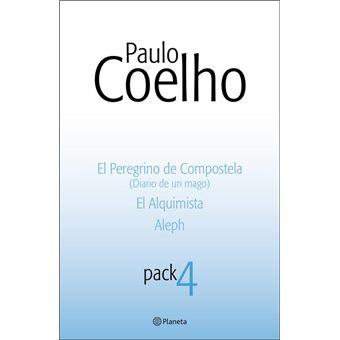 Pack Paulo Coelho 4: El Peregrino de Compostela, El Alquimista y Aleph