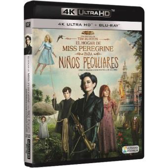 El hogar de Miss Peregrine para niños peculiares - UHD + Blu-Ray
