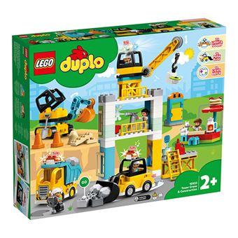 Grua torre y obra - Lego Duplo