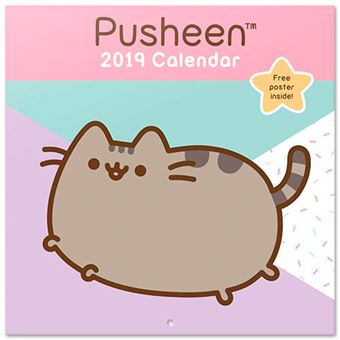 Calendario 2019 Pusheen the Cat