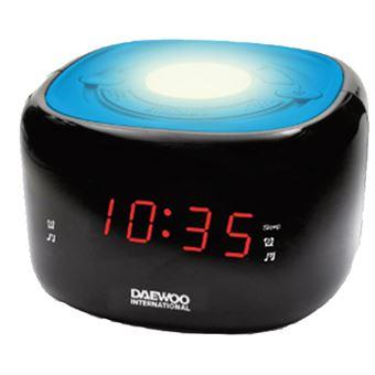 Radio despertador Daewoo DCR-440