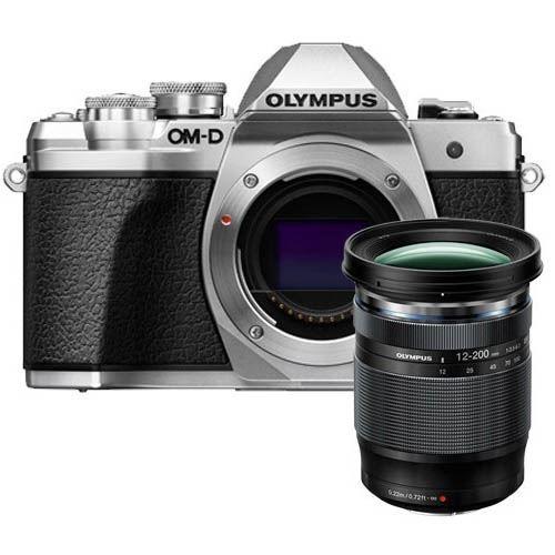 Cámara EVIL Olympus E‑M10 Mark III 12-200 mm Plata