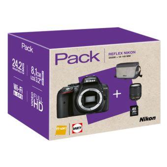 Cámara Réflex Nikon D5300 + 18-140 mm VR Pack