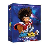 Box Saint Seiya - Los Caballeros Del Zodiaco. Películas 1987-2004 - Blu-Ray
