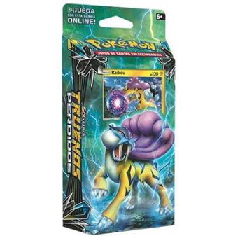 Pokémon JCC Sol y Luna Truenos perdidos baraja