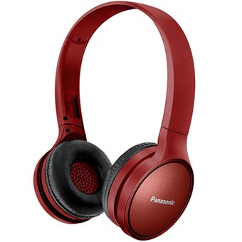 Auriculares Bluetooth Panasonic RP-HF410BE-R Rojo