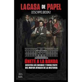 La casa de papel. Escape book - -5% en libros | FNAC