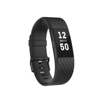 Smartband Fitbit Charge 2 Ed. Especial Negro/Gris Talla L