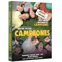 Pack Campeones + Ni Distintos Ni Diferentes - DVD