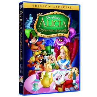 Alicia en el País de las Maravillas - DVD