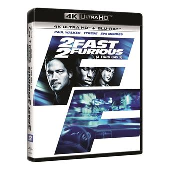 A todo gas 2 - Fast and Furious 2 - UHD + Blu-Ray