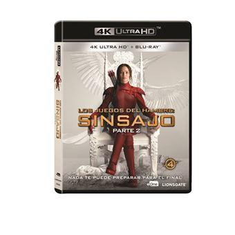 Los Juegos Del Hambre: Sinsajo Parte 2 - UHD + Blu-Ray