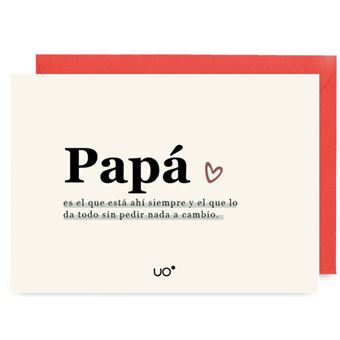UO Postal - Papá es el que siempre está ahí