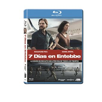 7 días en Entebbe - Blu-Ray