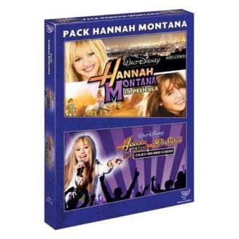 Pack Hannah Montana. La película + Hannah Montana y Miley Cyrus: Lo mejor de ambos mundos en concierto - DVD