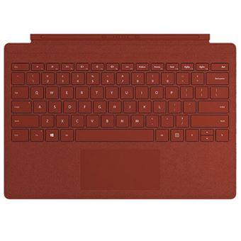 Funda con teclado Microsoft Signature Type Rojo para Surface Pro