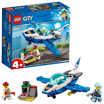 LEGO City Policía Aérea: Jet patrulla
