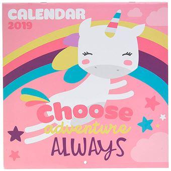 Calendario 2019 Unicorn