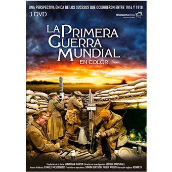 Pack La Primera Guerra Mundial en color - DVD