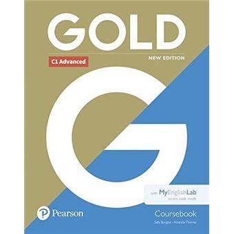 Gold C1 Advanced - Coursebook + MyEnglishLab