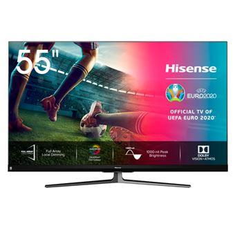 TV ULED 55'' Hisense 55U8QF 4K UHD HDR Smart TV Full Array