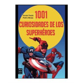 1001 curiosidades de los superheroe