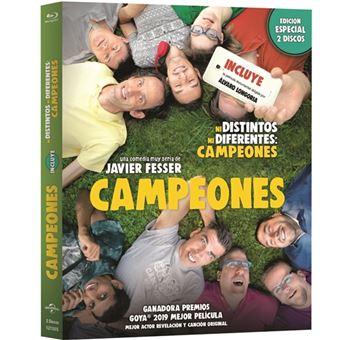 Campeones + Ni Distintos Ni Diferentes - Blu-Ray