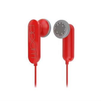 Auriculares in-ear Boom Spooners rojos