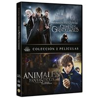Pack Animales Fantásticos 1 y 2 - DVD