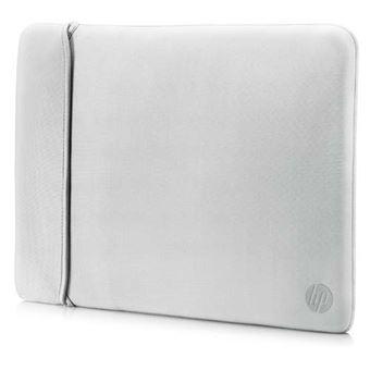 Funda de neopreno reversible HP Negro/Plata para portátil 14''