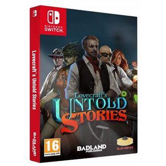Lovecrafts Untold Stories Edición Coleccionista Nintendo Switch