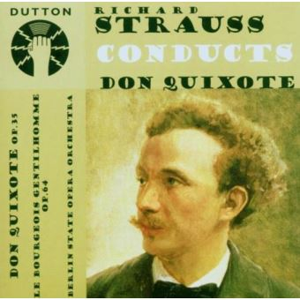 Strauss conducts don quix