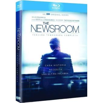 The Newsroom - Temporada 3 - Blu-Ray