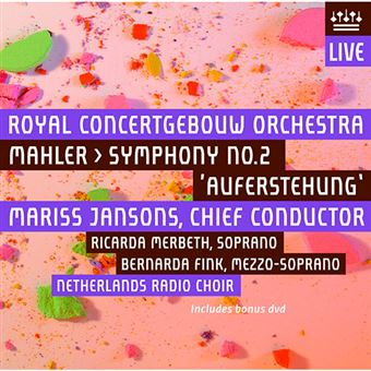 Mahler - Symphony No.2 - CD + DVD