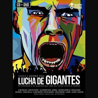 Lucha de gigantes: Tributo a Antonio Vega - CD + DVD