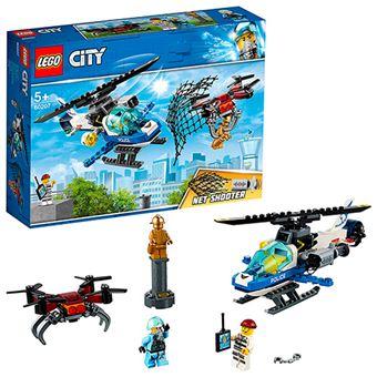 LEGO City Police 60206 Policía Aérea: Jet Patrulla