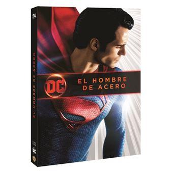 El hombre de acero Ed 2018 - DVD