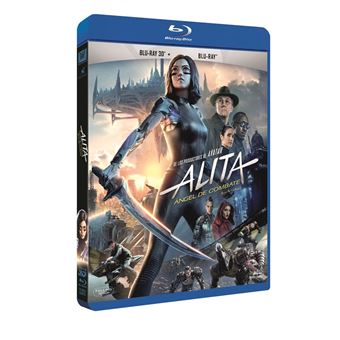Alita: Ángel de combate - Blu-Ray 3D + 2D