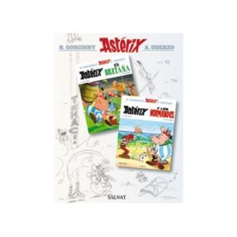 Astérix Nº 8 y 9 - Astérix en Bretaña - Astérix y los normandos