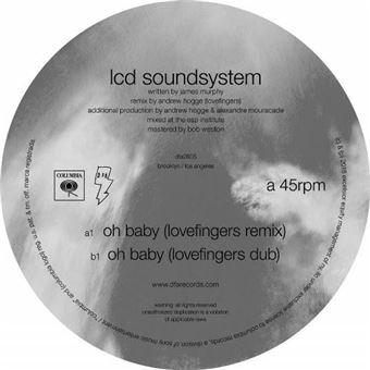 Oh Baby (Lovefingers Remixes) - Vinilo