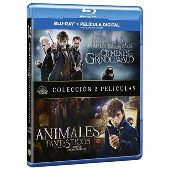 Pack Animales Fantásticos 1 y 2 - Blu-Ray