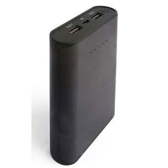 Powerbank Temium 10000 mAh USB-1 A Negro