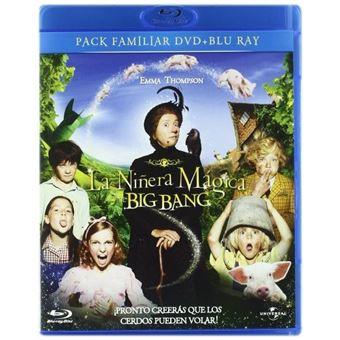 La niñera mágica y el Bigbang - DVD + Blu-Ray