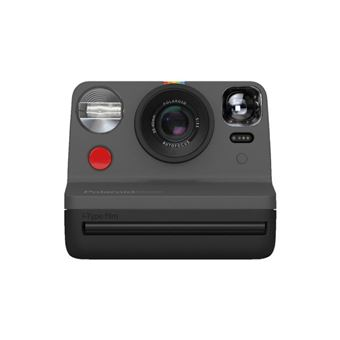 Cámara instantánea Polaroid Now Negro