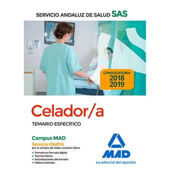 Celador/a del Servicio Andaluz de Salud - Temario específico