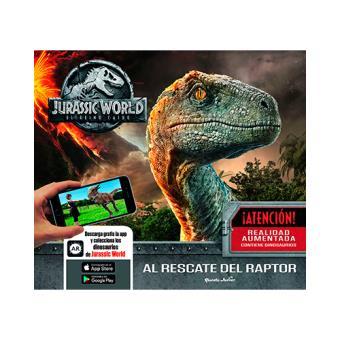 Jurassic World - El reino caído - Al rescate del raptor - Libro con realidad aumentada