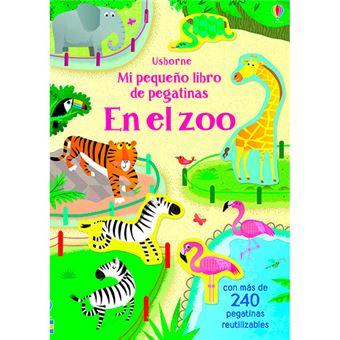 Mi pequeño libro de pegatinas - En el zoo