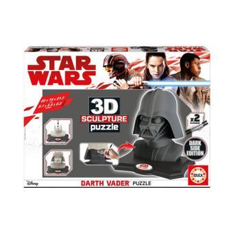 Puzzle Star Wars - Darth Vader 3D Negro