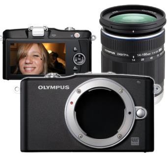 Olympus PEN E-PM1 + M.ZUIKO 14-150mm + Tapa de objetivo Kit Cámara EVIL